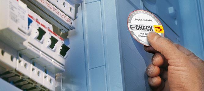 E-Check Sicherheit